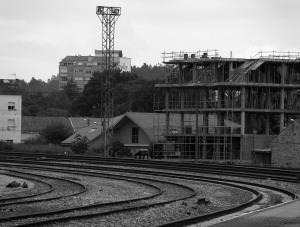 Estación de tren en Vilagarcía de Arousa